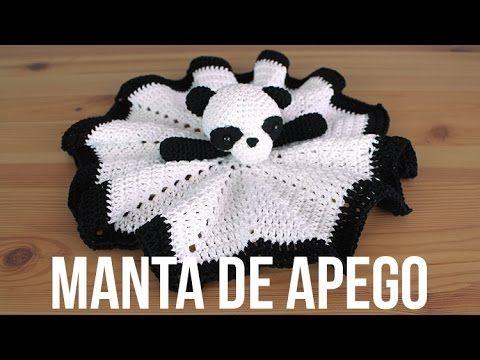 Manta de apego para bebés de crochet - YouTube