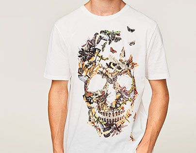 """Check out new work on my @Behance portfolio: """"ZARA   INSECT SKULL"""" http://be.net/gallery/55423909/ZARA-INSECT-SKULL"""
