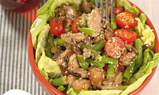 Вкусный салат майонезом без