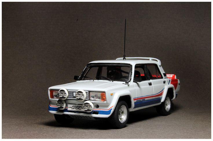 """Lada VFTS Gr.B """"Plain body"""" (1/43 Resin) Price €62"""