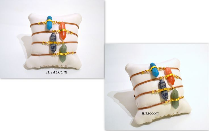 Handmade bracelets, beads, colourful, cords!!! Il Tacco!!!