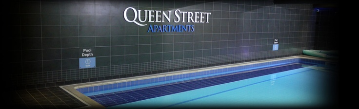 Swimming Pool at Queen Street Apartments - free to use by all residents