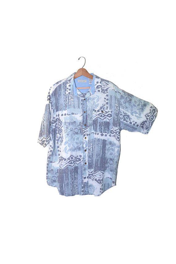 a22a2da5cf9f Abstract Print Shirt Pastel Shirt Men s Bugle Boy Shirt