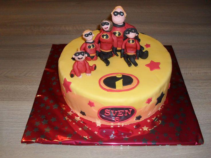 Incredibles taart/ cake