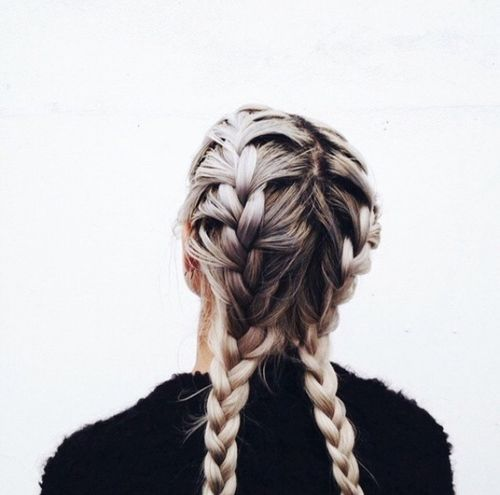 Great double braids and braid tutorials here