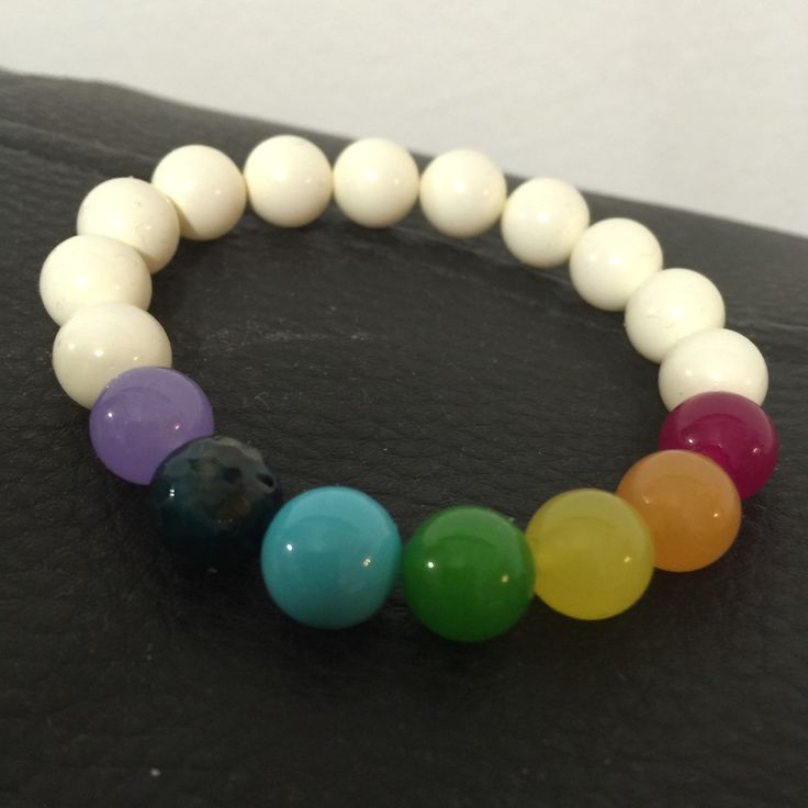 Chakra bracelet for energy and balance