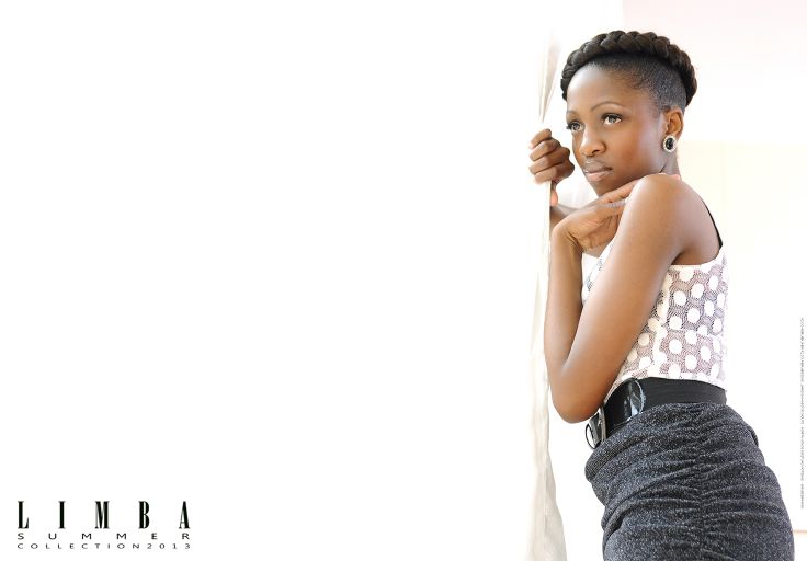 South African designer, Mbali for Limba. Limba corporate S/S 2013