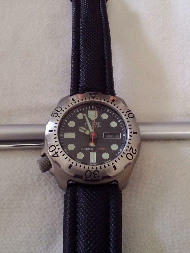 Citizen promaster titanium automatic dive watch products i love watches diving citizen - Citizen titanium dive watch ...