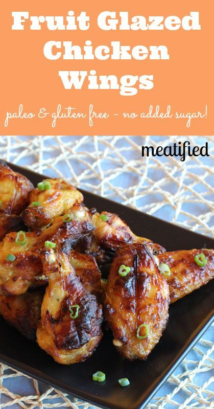 Paleo Glazed Chicken Wings | Recipe | Wings, Glaze and Recipes