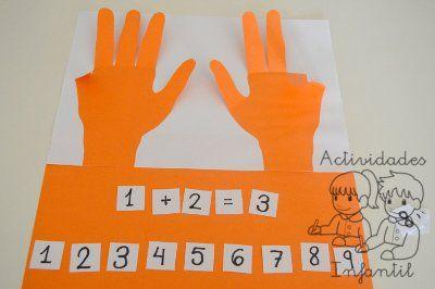 Hagamos de las matemáticas una clase divertida: Los guantes mágicos » Actividades infantil
