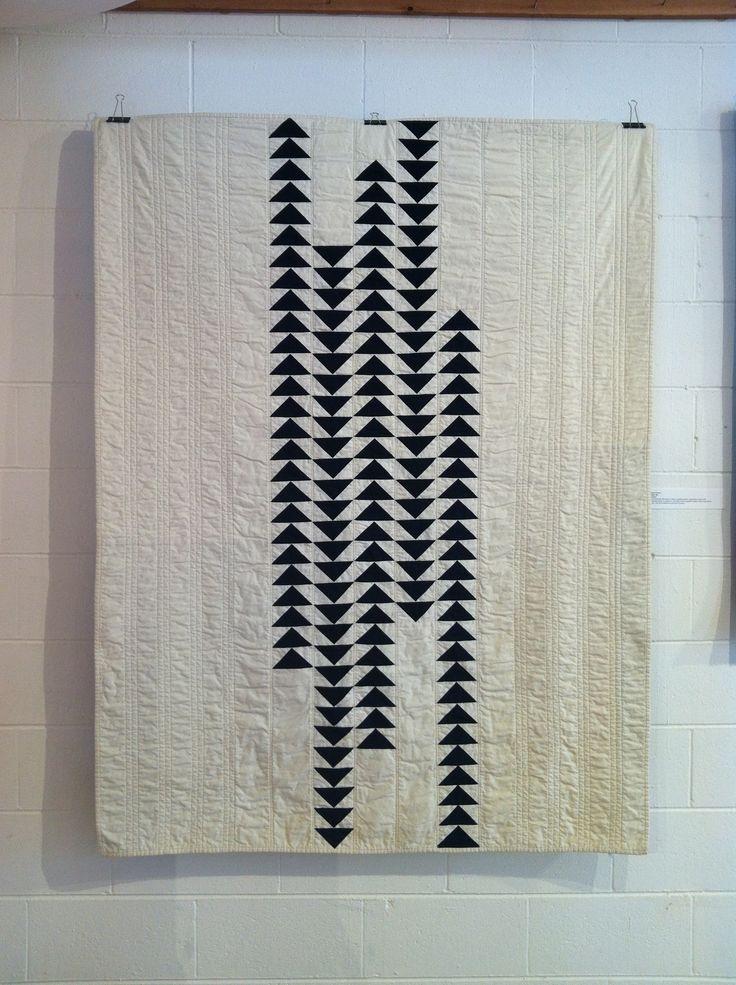 I don't normally love flying geese, but this quilt is outstanding! From the Seattle Modern Quilt guild's 2012 Exhibition.