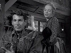 Gene Barry and Ellen Corby in Alfred Hitchcock Presents (1955)
