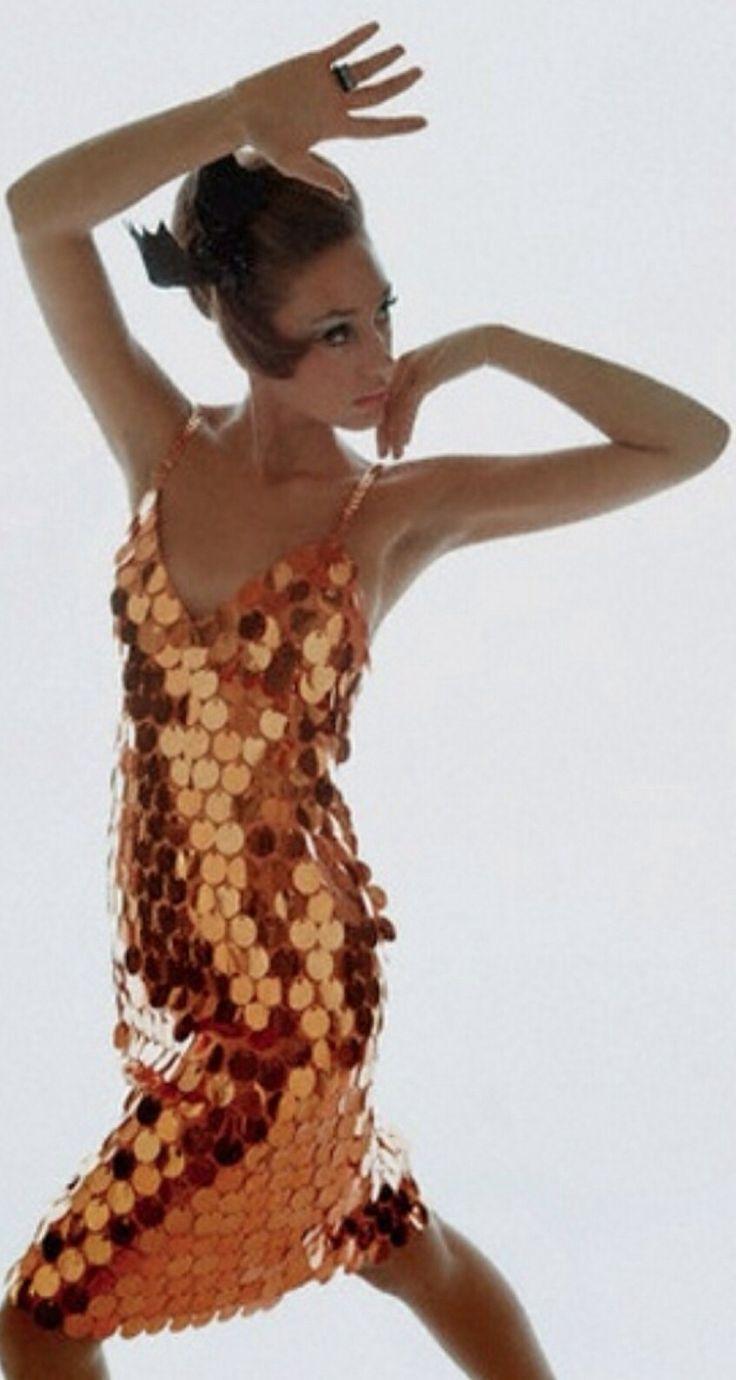 Luxury copper sequin dress  metallics  Pinterest