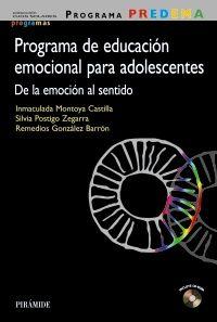 Educación emocional emocional para adolescentes. De la emoción al sentido
