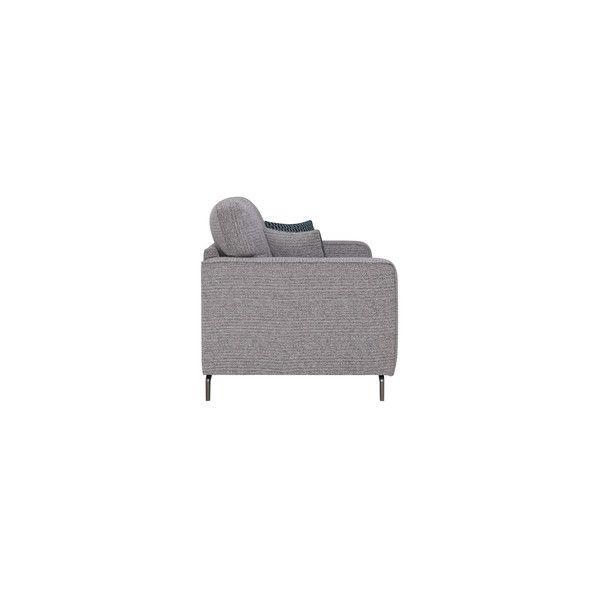 Grey Fabric Sofas 3 Seater Sofa Cube Range Oak Furnitureland 3 Seater Sofa 2 Seater Sofa Fabric Sofa