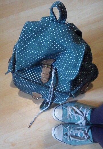 Mochila & zapatillas # green