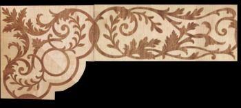 SALE Cheap wood floor borders inlay,wood inlay, inlays floor medallions parquet wood flooring