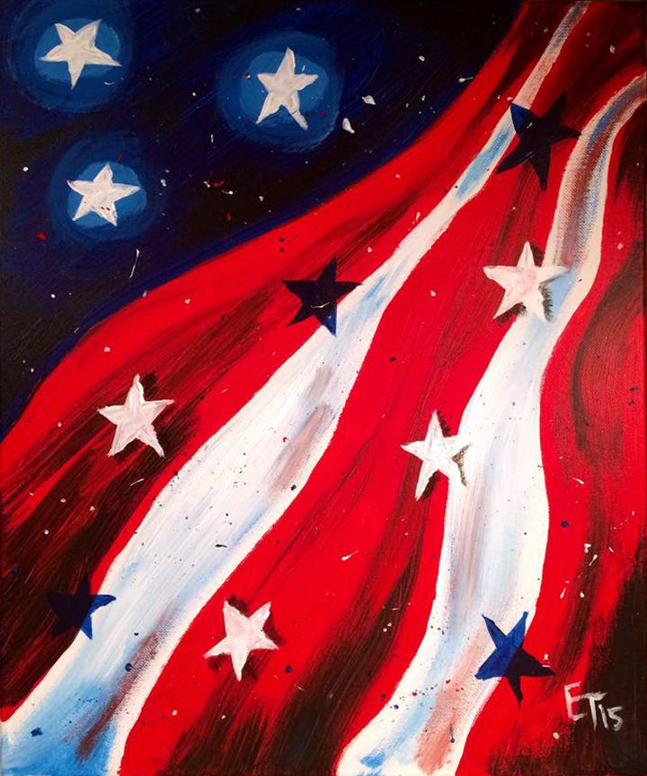 """Starry Independence"" available for iPaint Parties!"