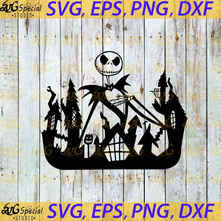 Jack Skellington King Of Halloween Svg, Cricut File, Svg