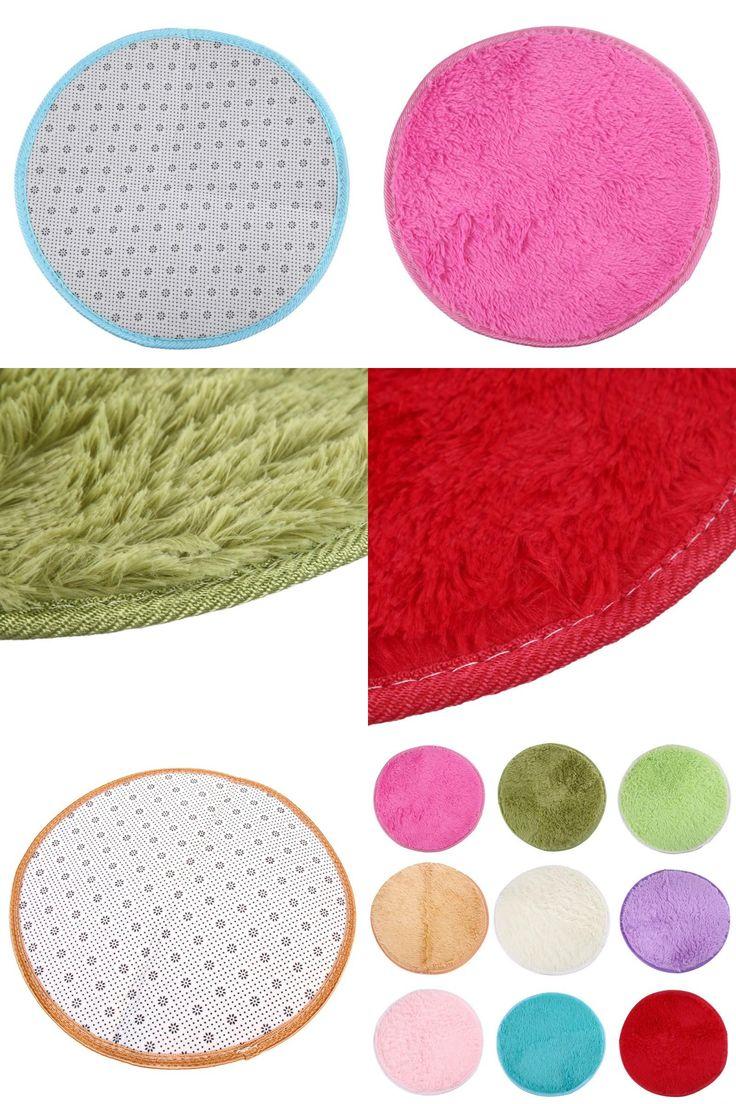 [Visit to Buy] Home Decor Bedroom Mat Door Floor Carpet Puzzle Mat Fluffy Round Foam Rug Non Slip Shower Mats #Advertisement