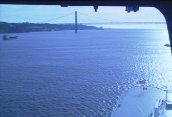 Queen Mary 2 - Bridge (Forward) Webcam / Camera 7.41 pm