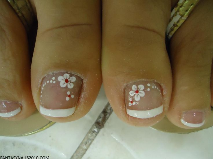 FANTASY NAILS - PEDICURE DESIGN - for peds that need pampering!