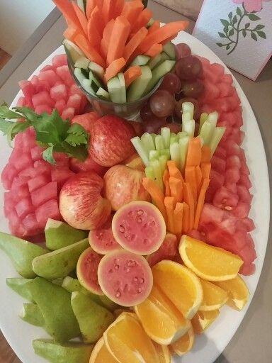 Fruit n vege platter