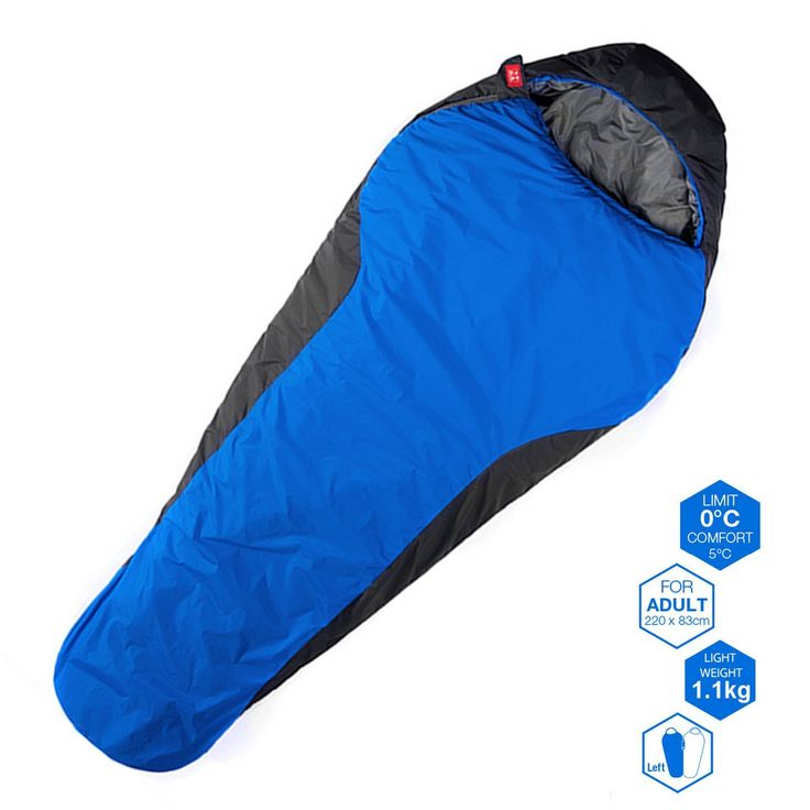 WeanasAR 3 Season Outdoor Travel Mummy Sleeping Bag 32 Degree F Waterproof Lightweight