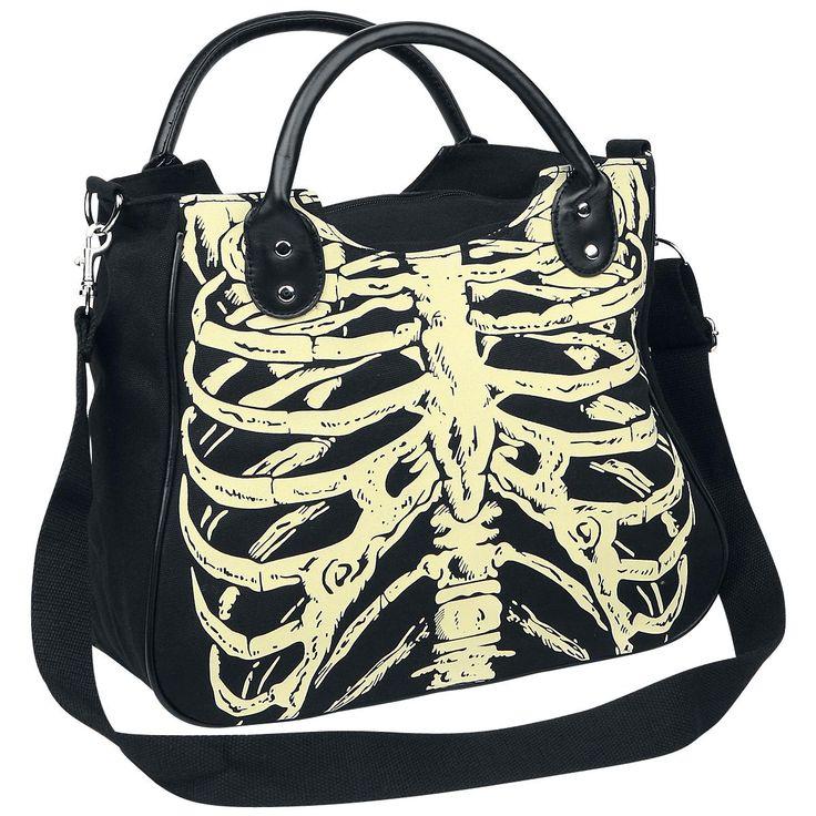"Banned Handbag ""Skeleton"" • EMP"
