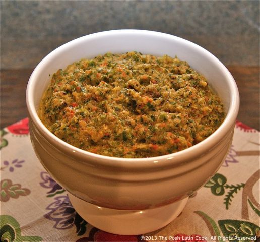Authentic Old World Puerto Rican Sofrito | The Foodie Files | Pintere ...