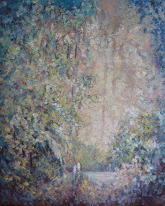"""""""Intimacy"""" original oil painting by artist Vanessa Penman - www.penman.co.nz"""
