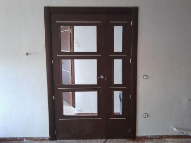 31 best puertas de interior images on pinterest cabinets - Puertas de dos hojas ...