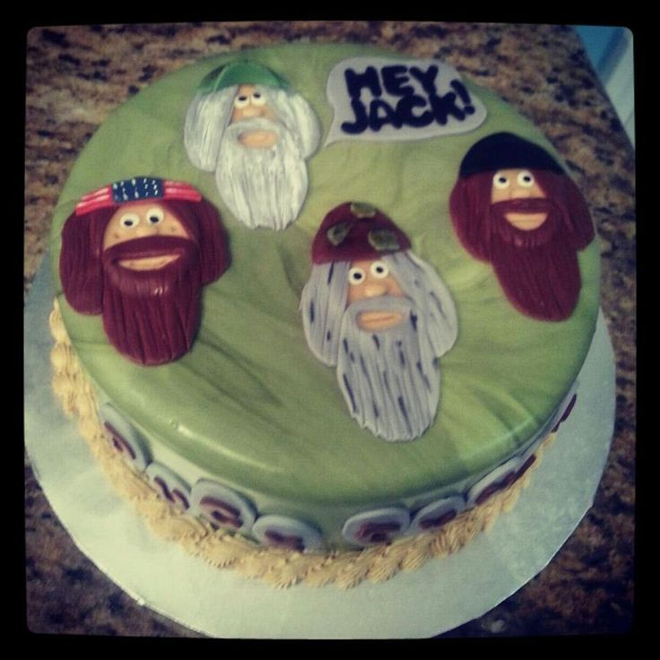 duck dynasty | Duck Dynasty — Birthday Cake Photos