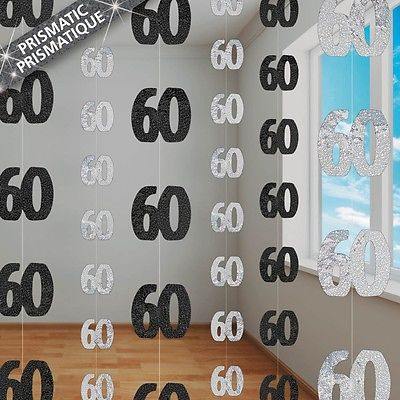 about 60th Birthday Party Decorations on Pinterest  50th birthday ...