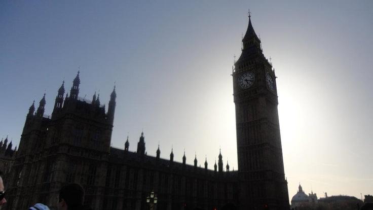 shining the Big Ben