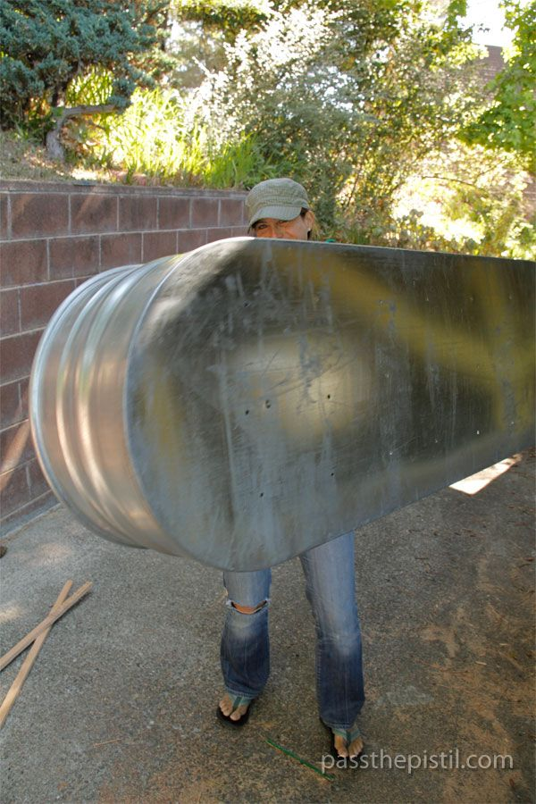 Deckening how to transform a watering trough into a raised garden bed water trough gardens