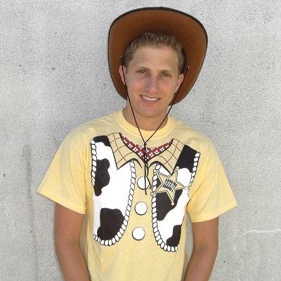 Sheriff Woody T-Shirt Costume