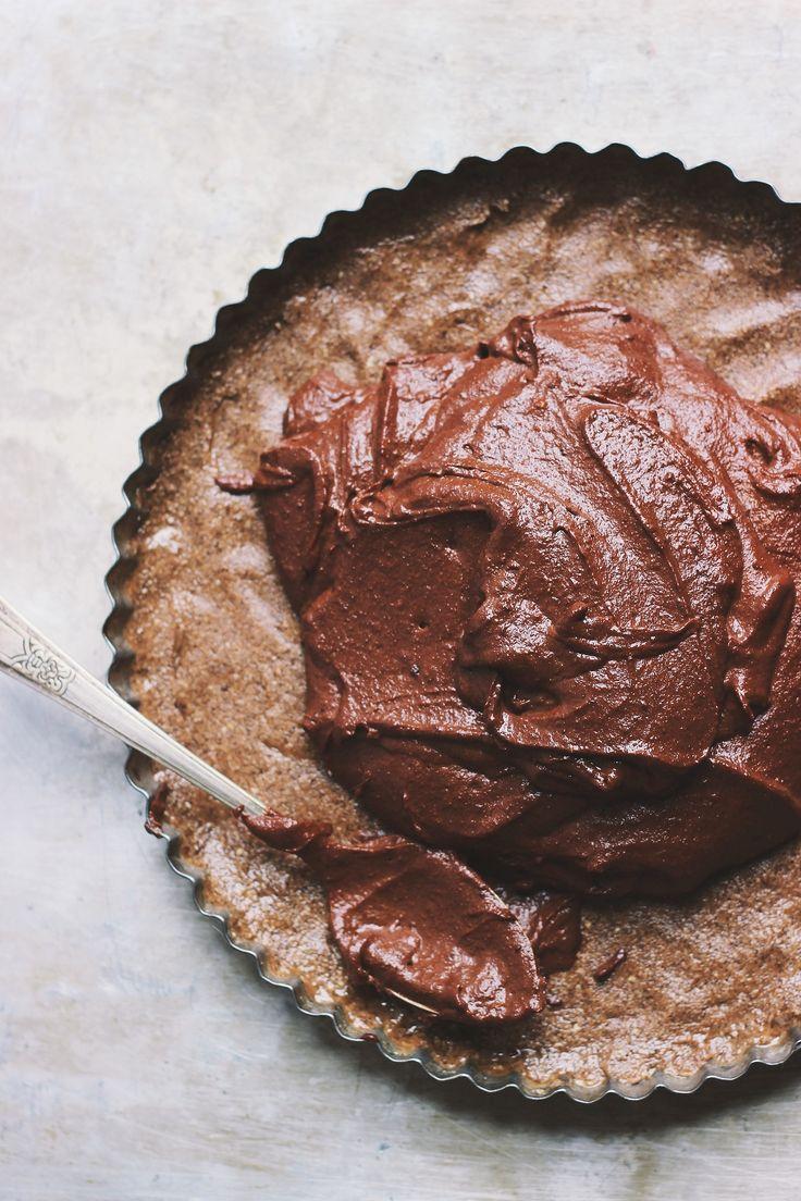 raw chocolate tart chocolate tarts raw chocolate vegan raw healthy ...