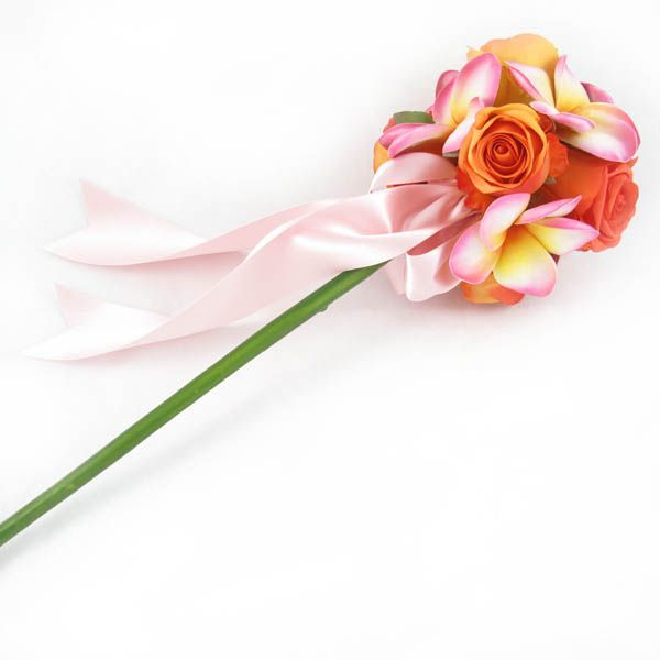 Flower wand by Loveflowers. FInd your perfect wedding flowers at www.loveflowers.com.au