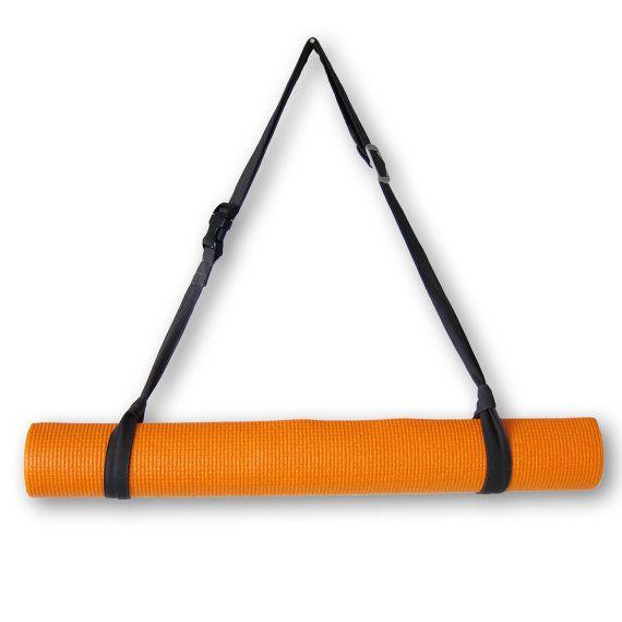 Yoga mat strap yoga mat sling yoga mat carrier  by SableEtMer, $18.00