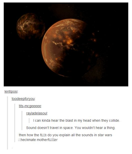 tumblr comments. checkmate motherf***er.< YOU DONT UNDERSTAND HOW LONG I STARED. Edit: holy hell does anyone else actually sort of hear teh explosion in their head seriously I can't help hearing it every time time it explodes