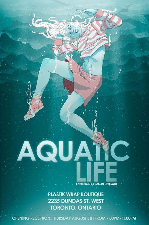 Aquatic Life -  Flyer Design