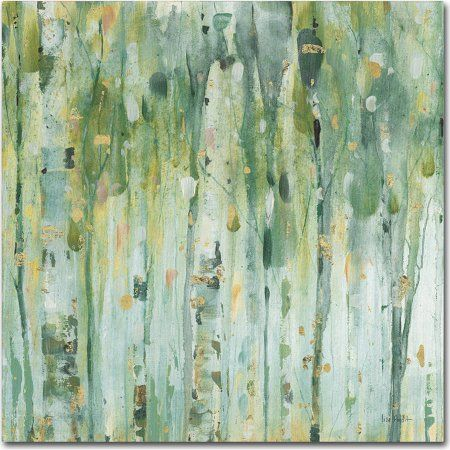 Trademark Fine Art The Forest Iii Canvas Art by Lisa Audit, Size: 18 x 18, Multicolor
