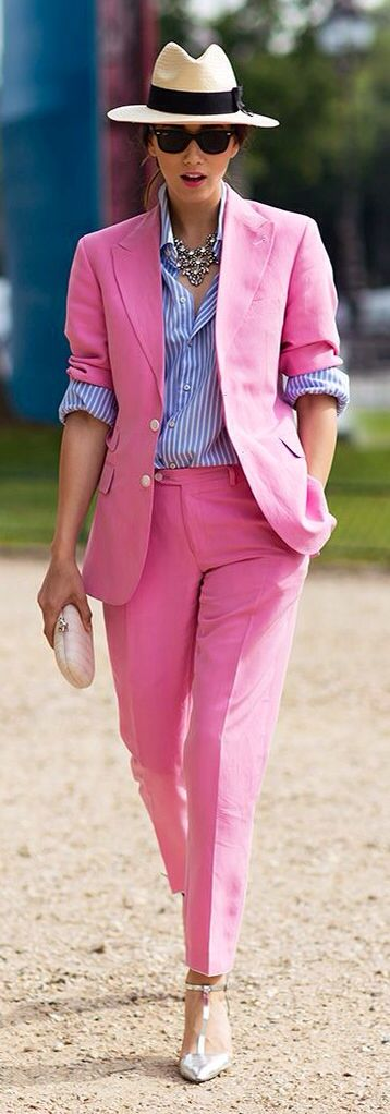 Suited Pink
