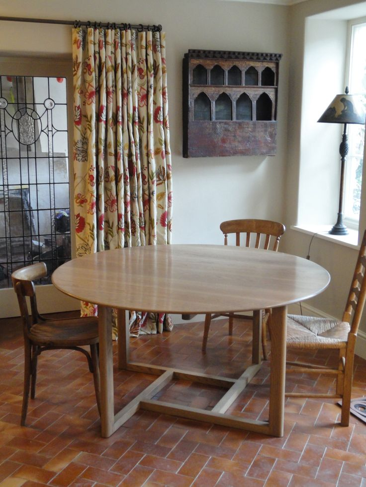 Bespoke dining table - designed & made inhouse.