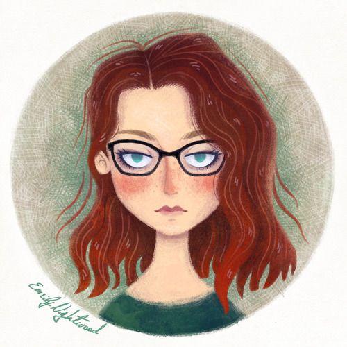 Redhead self portrait