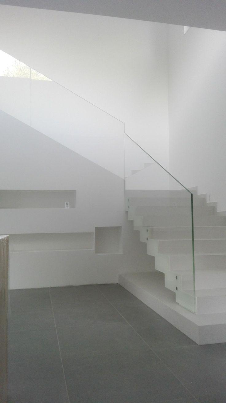 Modern line balustrade