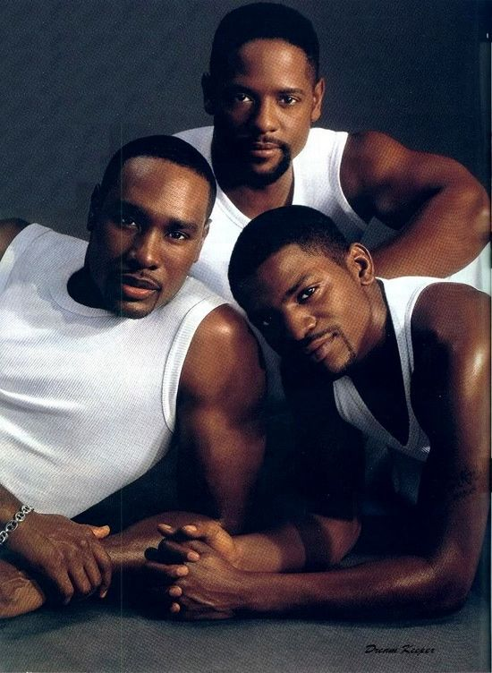 Morris Chestnut, Blair Underwood & Mekhi Phifer....Now those are some good looking men!!