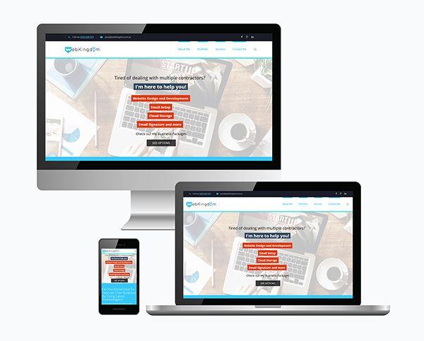 Mobile Ready Websites from WebKingdom, Freelance Web Developer Sydney