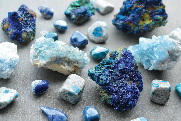 Blue gemstones capture the energy of the blue ray, aiding in communication and relieving stress. Blue stones and crystals are powerful for healing and serenity.